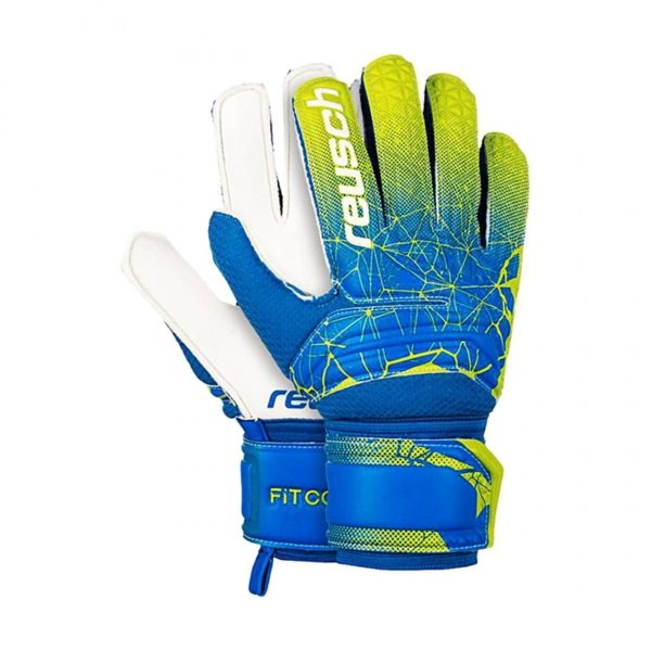 REUSCH GUANTI PORTIERE FIT CONTROL SD OPEN CUFF JUNIOR 3972515 888 CALCIO